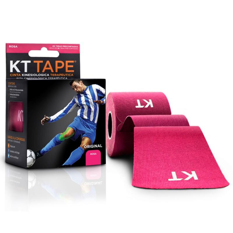 Kt Tape Pre Cortado de Algodón Rosa