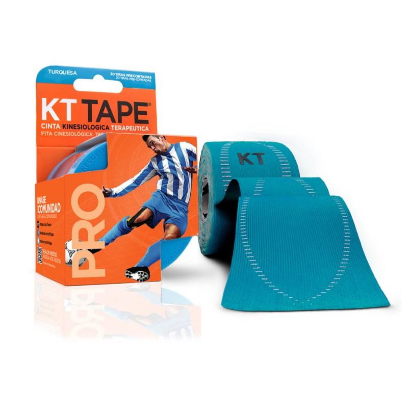 Kt Tape Pre Cortado Pro Sintético Turquesa